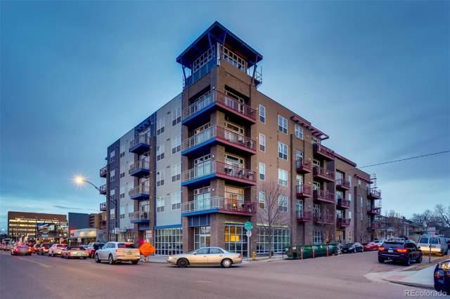 1488 Madison Street #502, Denver, CO 80206 (#6880980) :: Relevate | Denver