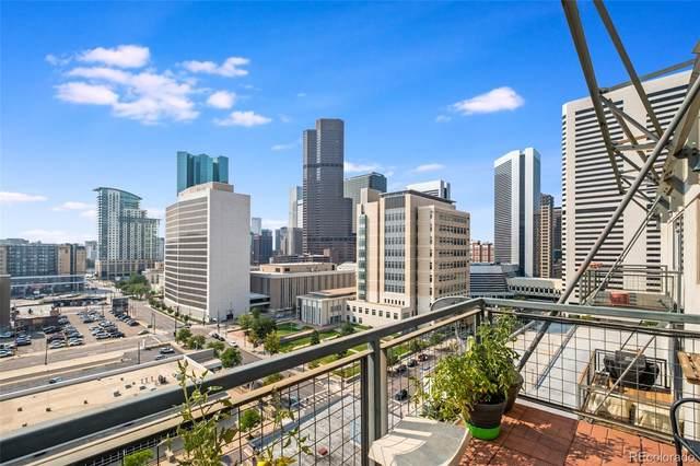 2020 Arapahoe Street #1260, Denver, CO 80205 (#6884166) :: The Colorado Foothills Team | Berkshire Hathaway Elevated Living Real Estate
