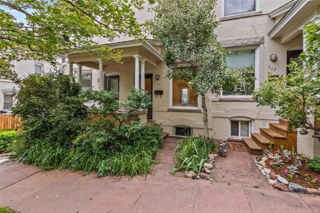 715 N Logan Street, Denver, CO 80203 (#6884736) :: Bring Home Denver with Keller Williams Downtown Realty LLC