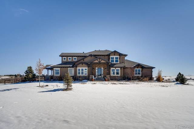 11065 Cave Spring Road, Franktown, CO 80116 (#6886562) :: Bring Home Denver with Keller Williams Downtown Realty LLC