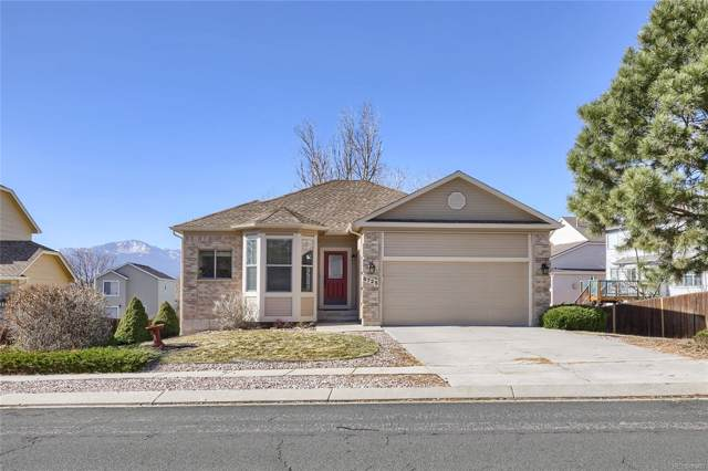 6725 Blazing Trail Drive, Colorado Springs, CO 80922 (MLS #6886843) :: Bliss Realty Group