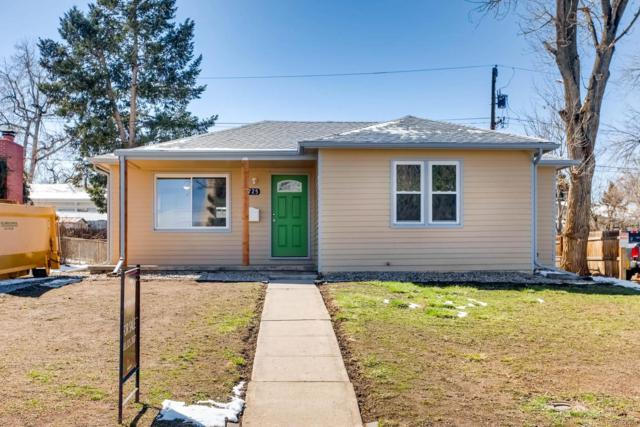 2725 S Hazel Court, Denver, CO 80236 (#6890390) :: The Peak Properties Group