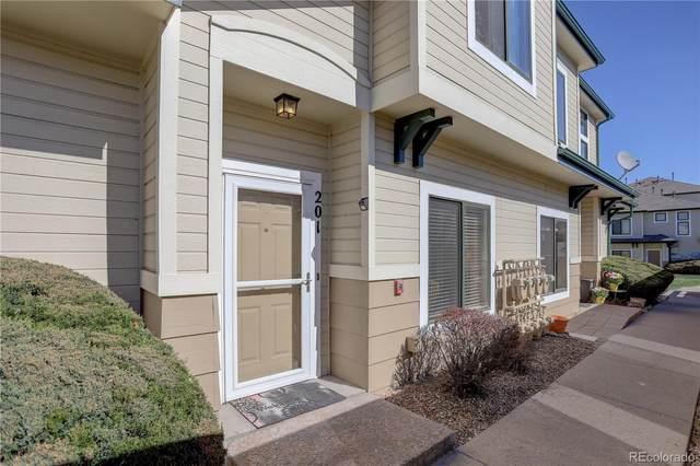 8707 E Florida Avenue #201, Denver, CO 80247 (#6898693) :: The Peak Properties Group