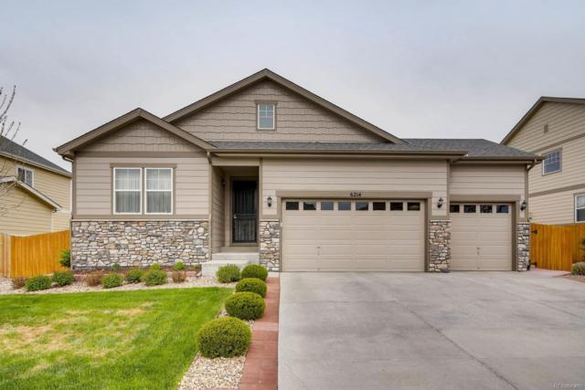 6214 S Ider Way, Aurora, CO 80016 (#6898738) :: The HomeSmiths Team - Keller Williams
