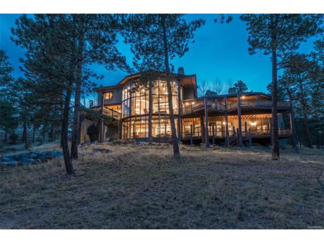 1334 Silver Rock Lane, Evergreen, CO 80439 (#6907730) :: The Peak Properties Group