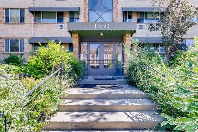 1450 Albion Street #104, Denver, CO 80220 (#6907989) :: The HomeSmiths Team - Keller Williams