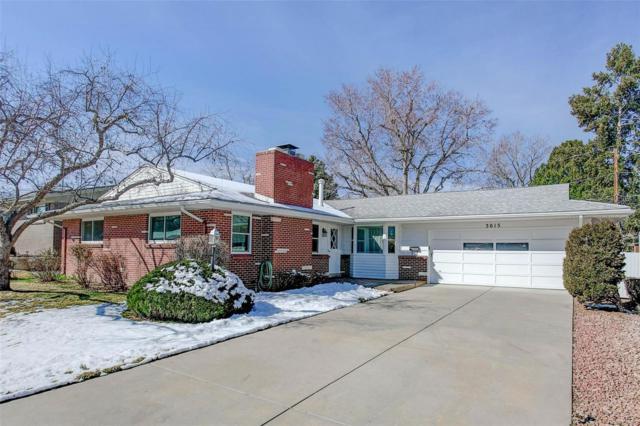 3015 S Gaylord Street, Denver, CO 80210 (#6909376) :: The Peak Properties Group