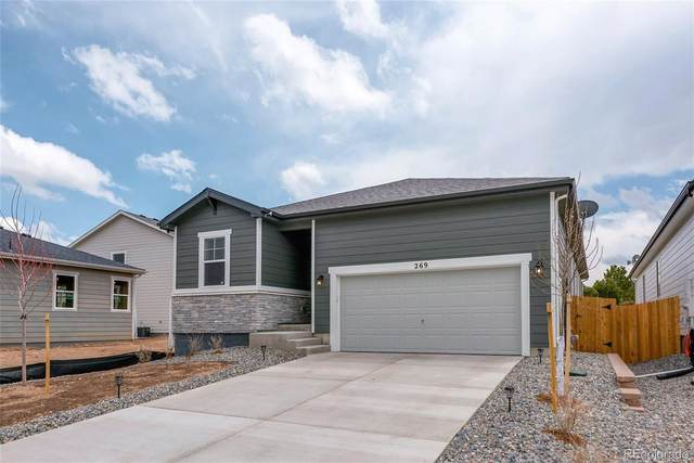 269 Vista Cliff Circle, Castle Rock, CO 80104 (MLS #6909842) :: Stephanie Kolesar