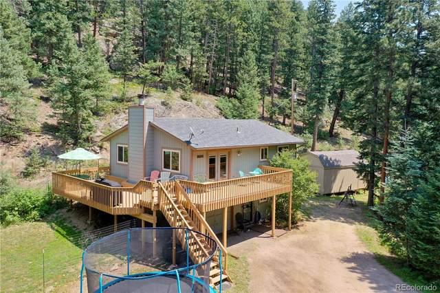 8874 S Doubleheader Ranch Road, Morrison, CO 80465 (#6910512) :: Hudson Stonegate Team