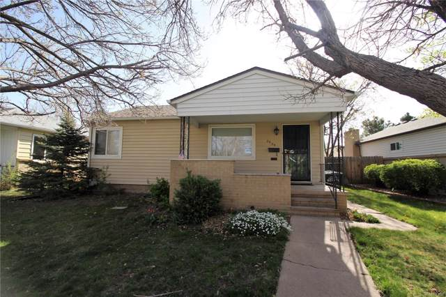 2634 S Cook Street, Denver, CO 80210 (MLS #6917751) :: The Space Agency - Northern Colorado Team