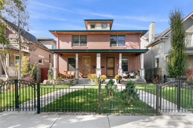 449 Pearl Street, Denver, CO 80203 (#6918455) :: Sellstate Realty Pros