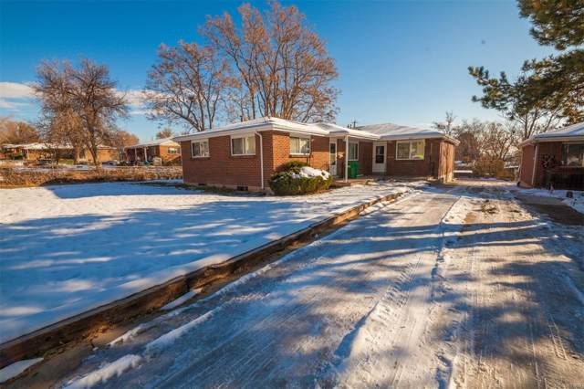 4620 S Lowell Boulevard, Englewood, CO 80110 (MLS #6919877) :: Colorado Real Estate : The Space Agency