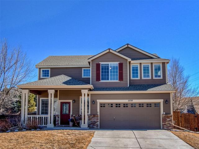 11150 Glacier Park Circle, Parker, CO 80138 (#6919955) :: Colorado Home Finder Realty
