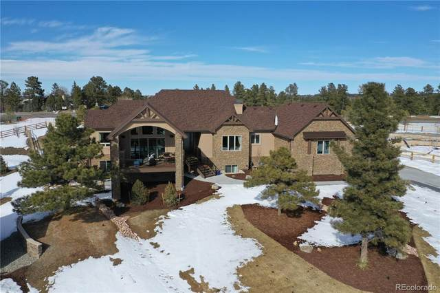 5633 Ponderosa Drive, Parker, CO 80134 (MLS #6920038) :: 8z Real Estate