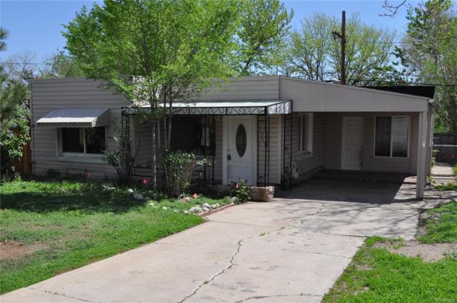 1260 S Navajo Street, Denver, CO 80223 (#6922301) :: The Peak Properties Group