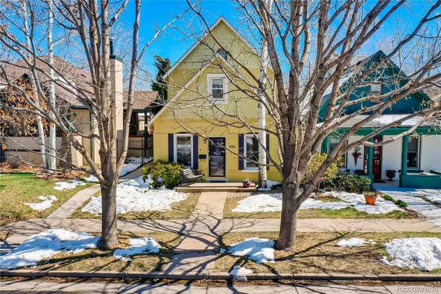 644 S High Street, Denver, CO 80209 (MLS #6926548) :: Kittle Real Estate