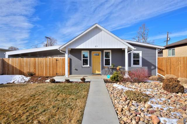 611 Stuart Street, Denver, CO 80204 (#6930063) :: Hudson Stonegate Team
