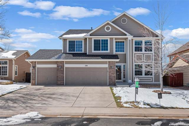 239 Lockwood Street, Castle Rock, CO 80104 (MLS #6932420) :: 8z Real Estate