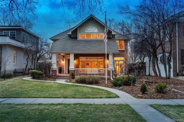 475 N Williams Street, Denver, CO 80218 (#6939336) :: Mile High Luxury Real Estate