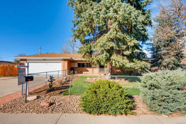 6701 W Jefferson Place, Lakewood, CO 80226 (#6940618) :: The DeGrood Team