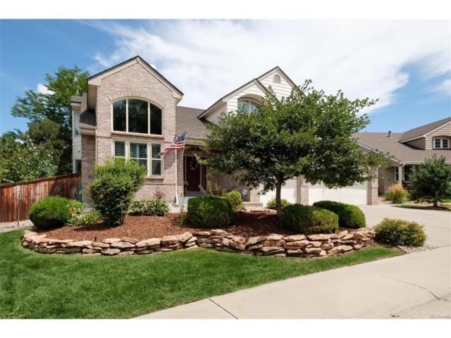 8918 Green Meadows Lane, Highlands Ranch, CO 80126 (#6940635) :: The Peak Properties Group