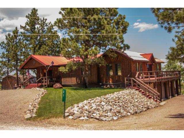 21 Little Horn Road, Westcliffe, CO 81252 (MLS #6941420) :: 8z Real Estate