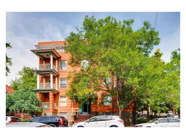 1356 Pearl Street #110, Denver, CO 80203 (#6943165) :: The Peak Properties Group