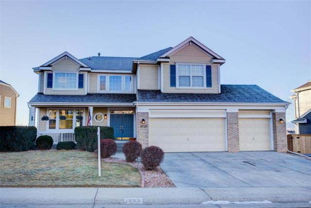1752 Mountain Maple Avenue, Highlands Ranch, CO 80129 (MLS #6943535) :: 52eightyTeam at Resident Realty