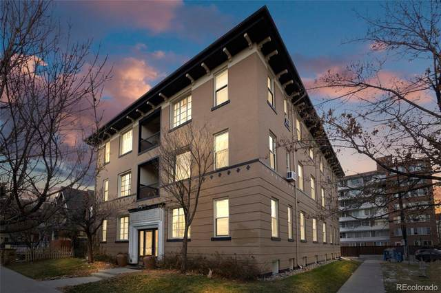 1167 N Logan Street #6, Denver, CO 80203 (MLS #6950120) :: The Sam Biller Home Team