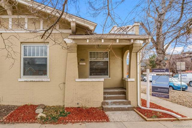 200 E 4th Avenue, Denver, CO 80203 (MLS #6954623) :: Keller Williams Realty