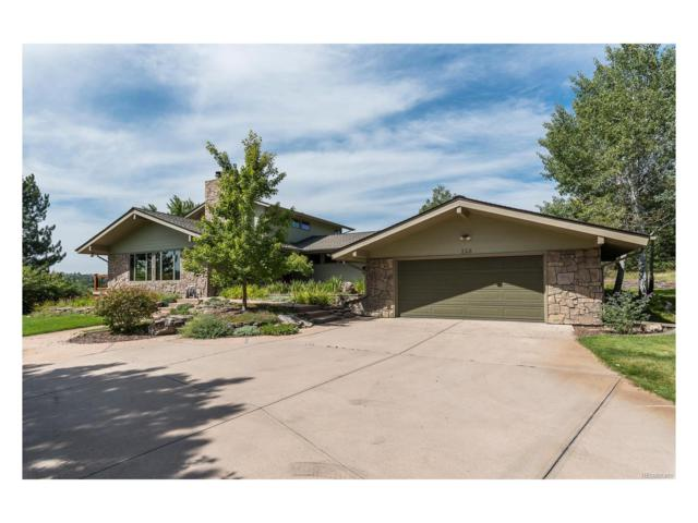 218 W Juan Way, Castle Rock, CO 80108 (MLS #6959130) :: 8z Real Estate