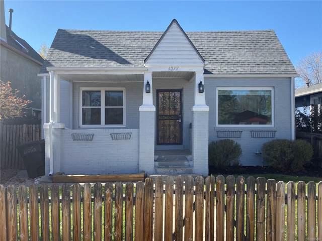 1377 Osceola Street, Denver, CO 80204 (#6964092) :: RazrGroup