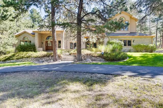 164 Moose Circle, Franktown, CO 80116 (#6964685) :: The Galo Garrido Group