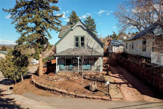 203 Pawnee Avenue, Manitou Springs, CO 80829 (#6966261) :: West + Main Homes