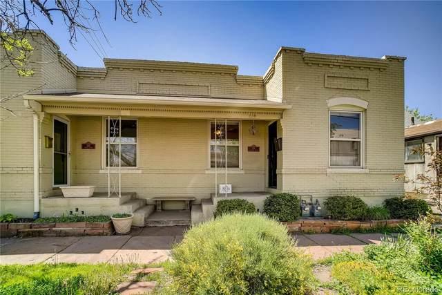 614 E Dakota Avenue, Denver, CO 80209 (#6974189) :: The HomeSmiths Team - Keller Williams