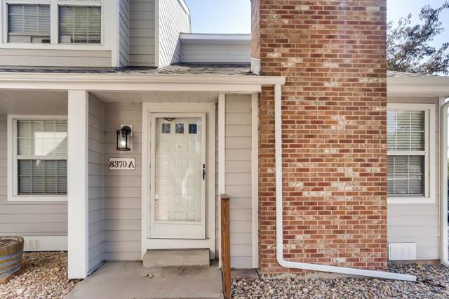 8370 W 87th Drive A, Arvada, CO 80005 (#6975860) :: The DeGrood Team