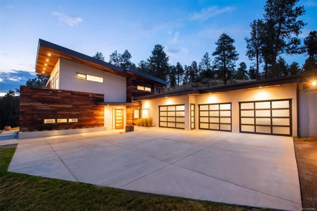 3551 Overlook Trail, Evergreen, CO 80439 (MLS #6976952) :: Kittle Real Estate
