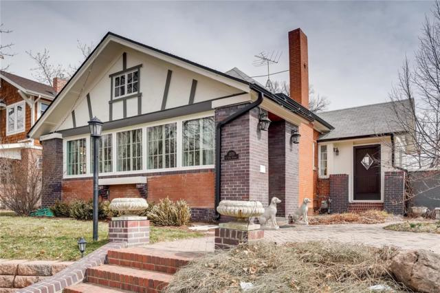 1370 S York Street, Denver, CO 80210 (#6981903) :: House Hunters Colorado