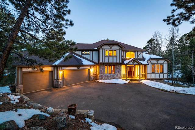 2320 Woodbury Lane, Evergreen, CO 80439 (#6983500) :: The DeGrood Team