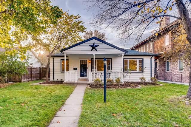2421 S High Street, Denver, CO 80210 (MLS #6985356) :: Kittle Real Estate