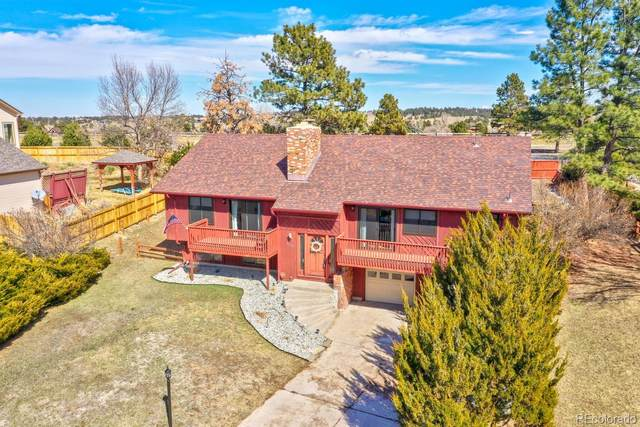 8259 Carriage Lane, Parker, CO 80134 (#6986142) :: The Brokerage Group