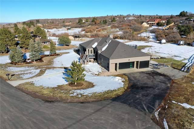9018 N Palomino Drive, Castle Rock, CO 80108 (#6990475) :: The Griffith Home Team