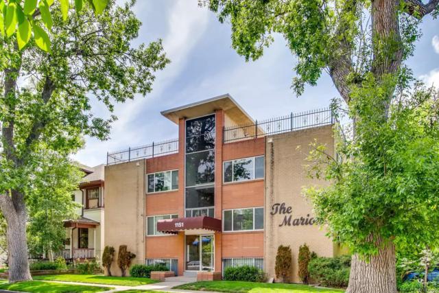1151 N Marion Street #203, Denver, CO 80218 (MLS #6995392) :: 8z Real Estate
