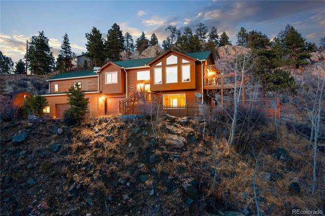 414 Bob Cat Trail, Bailey, CO 80421 (#6998665) :: The Scott Futa Home Team