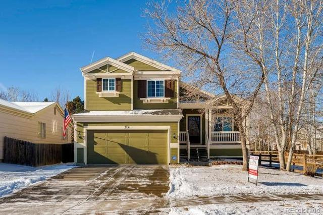 314 Tynan Drive, Erie, CO 80516 (#7000857) :: The Griffith Home Team