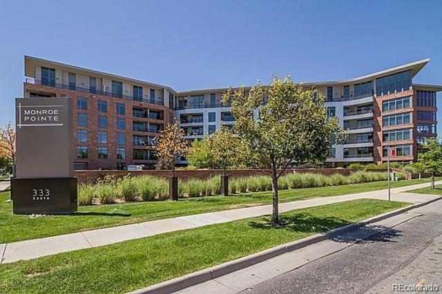 333 S Monroe Street #412, Denver, CO 80209 (#7001834) :: The Dixon Group