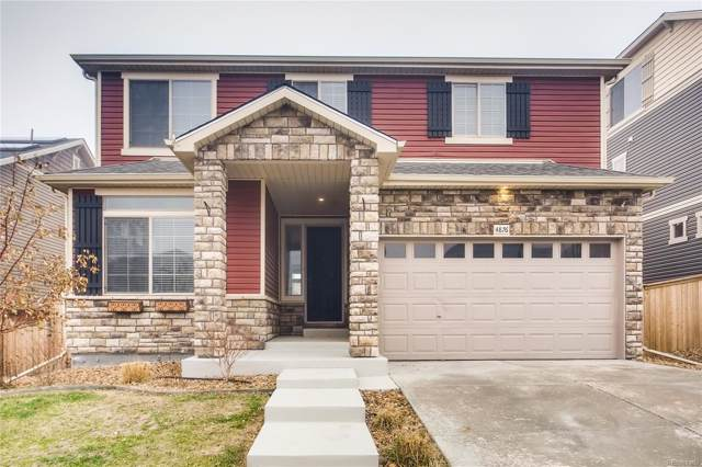 4876 S Buchanan Street, Aurora, CO 80016 (#7002467) :: The Peak Properties Group