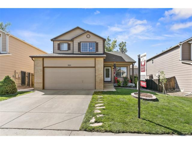 321 Chelsea Street, Castle Rock, CO 80104 (MLS #7004559) :: 8z Real Estate