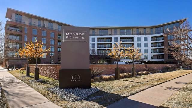 333 S Monroe Street #408, Denver, CO 80209 (#7005891) :: Bring Home Denver with Keller Williams Downtown Realty LLC
