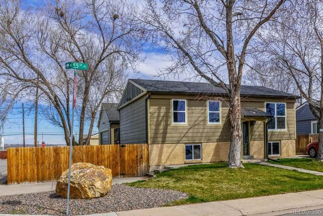 1781 W 55th Place, Denver, CO 80221 (MLS #7007216) :: The Sam Biller Home Team